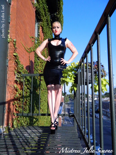 Julie Simone enters Miss Rubber World 2013 competition