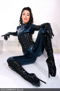 Val Vampyre, competitor in 2013 Miss Rubber World Contest